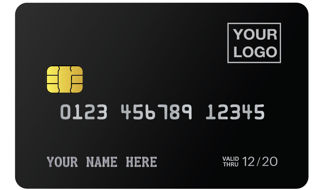 MCK-BLACK METAL CREDIT CARD