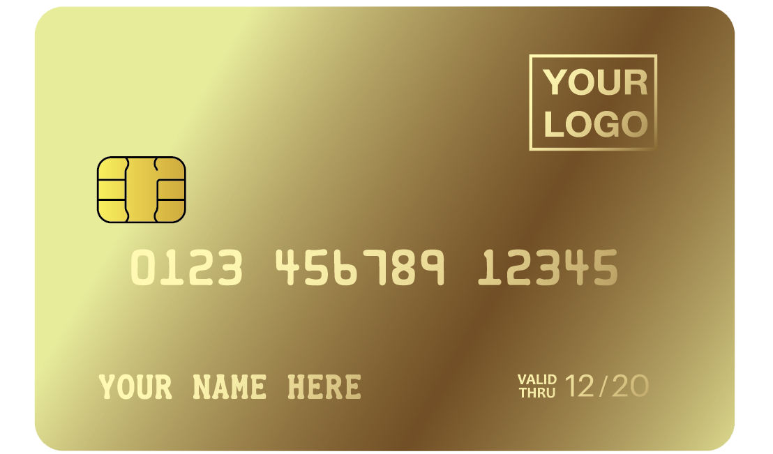 MCK - LURUXY Custom GOLD CREDIT CARD-2