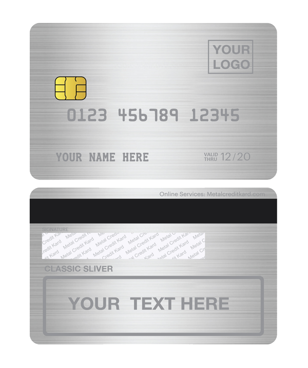 metal credit card manufacturer